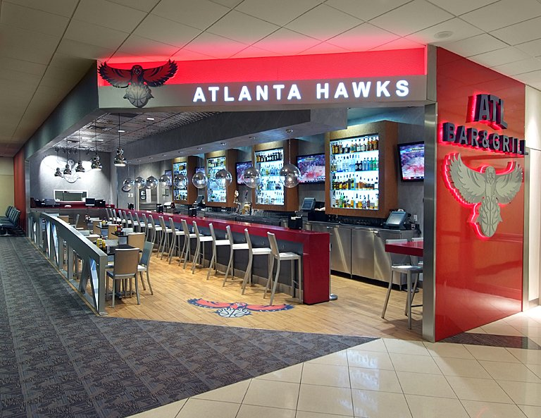 Atl Terminal A Buildout - Hawks Bar and Grill
