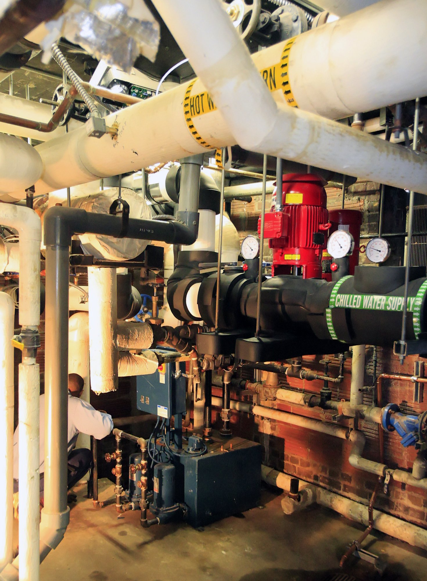 Georgia Tech Howell and Harrison 4-pipe conversion